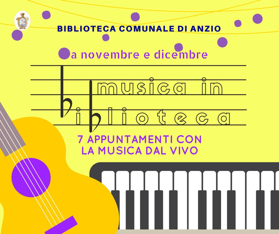 Musica in Biblioteca 2017