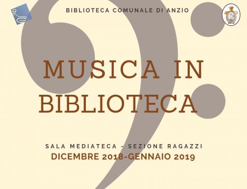 Musica in Biblioteca 2018/2019