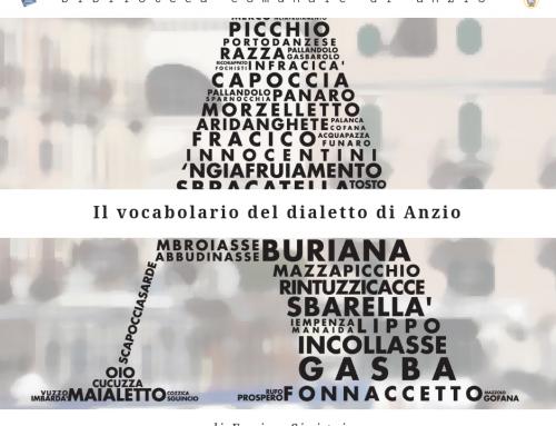 Il vocabolario del dialetto di Anzio
