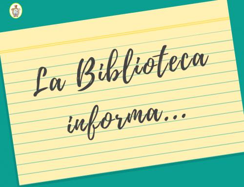 La Biblioteca informa…